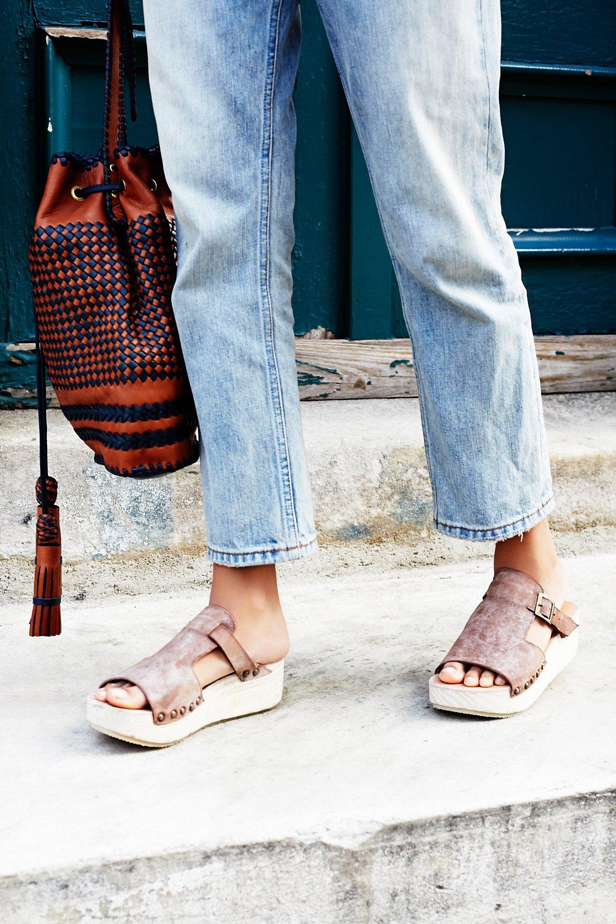 Oasis Wood懒人凉鞋