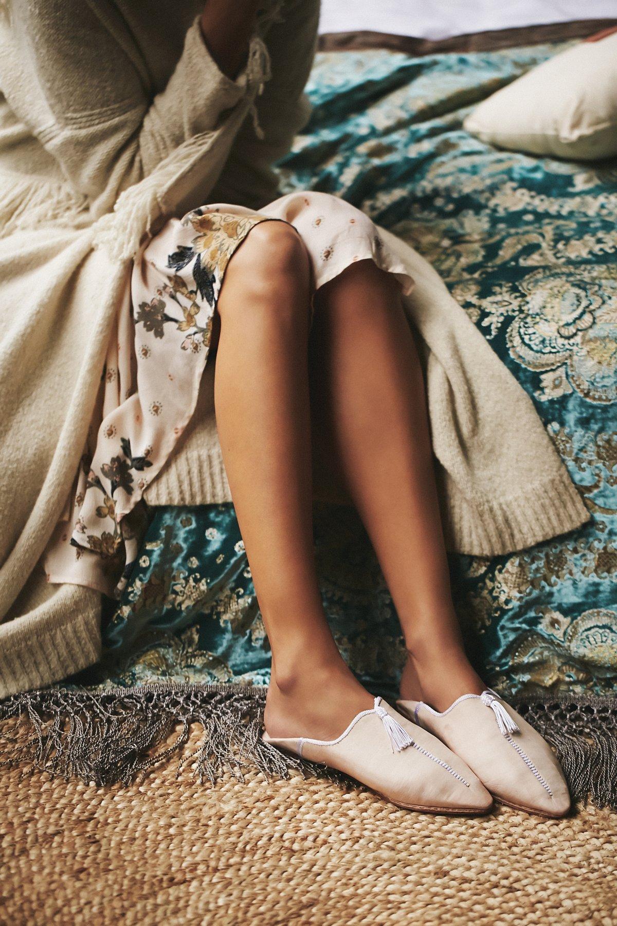 Day Rising摩洛哥平底鞋