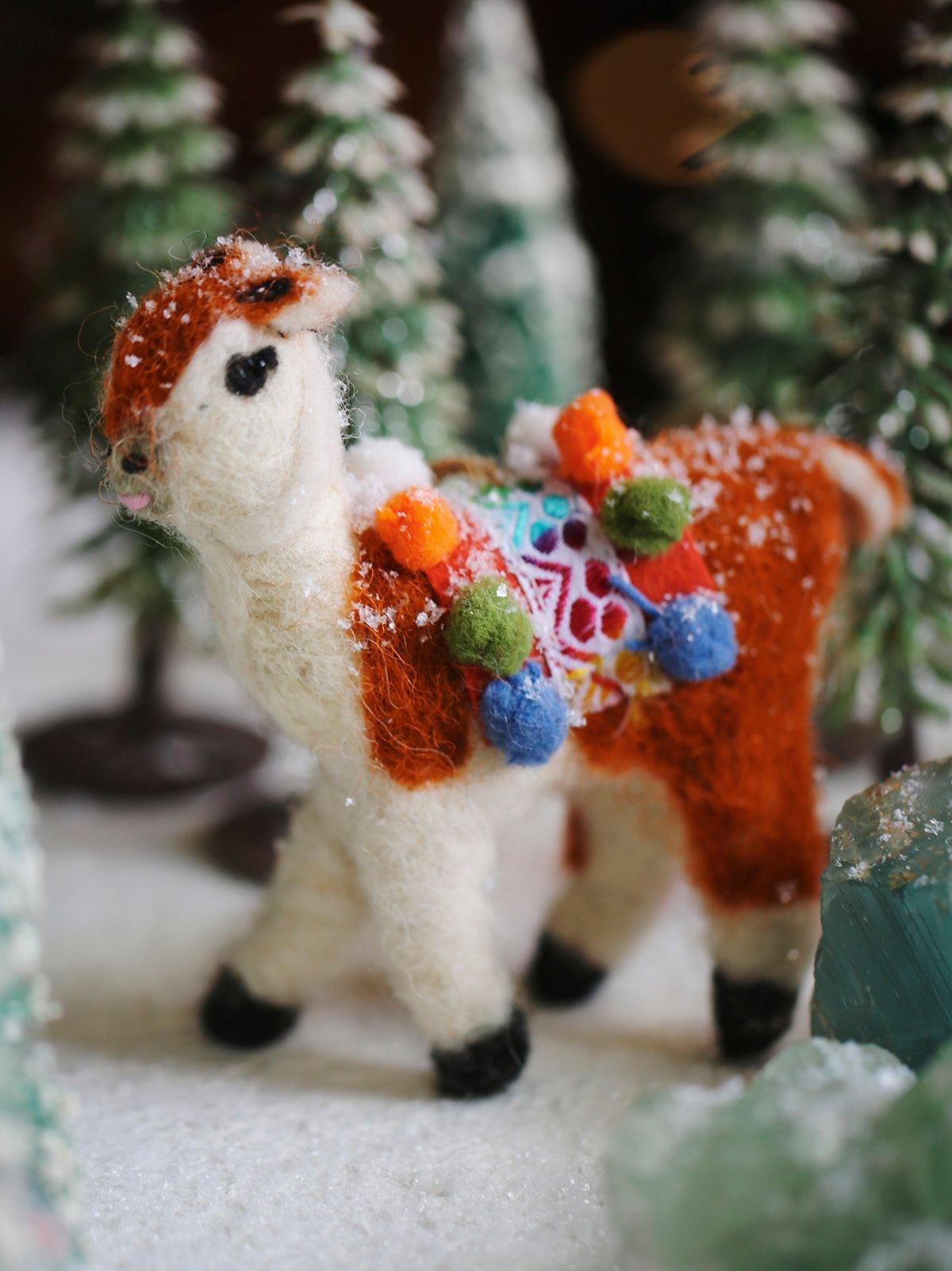 Llama装饰品