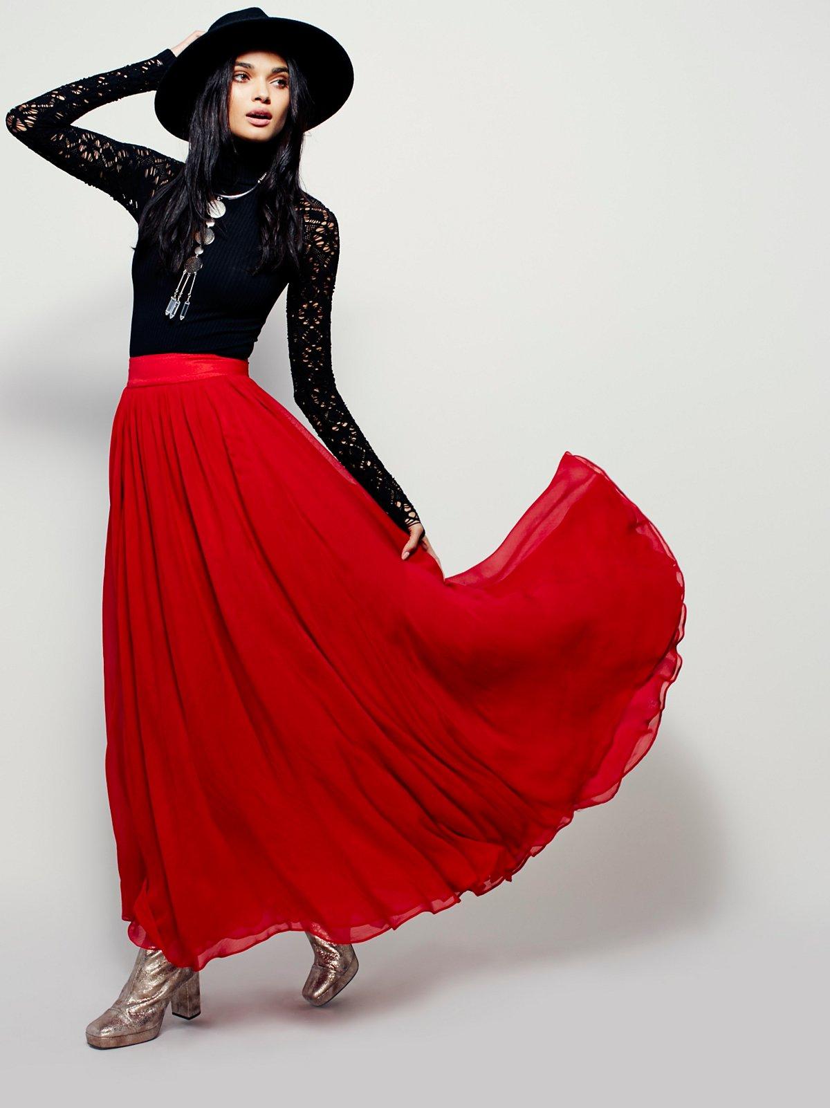 Hearts Delight Maxi Skirt