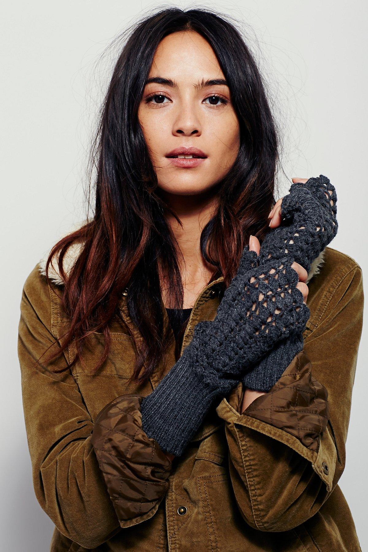 Lacey Crochet Armwarmer