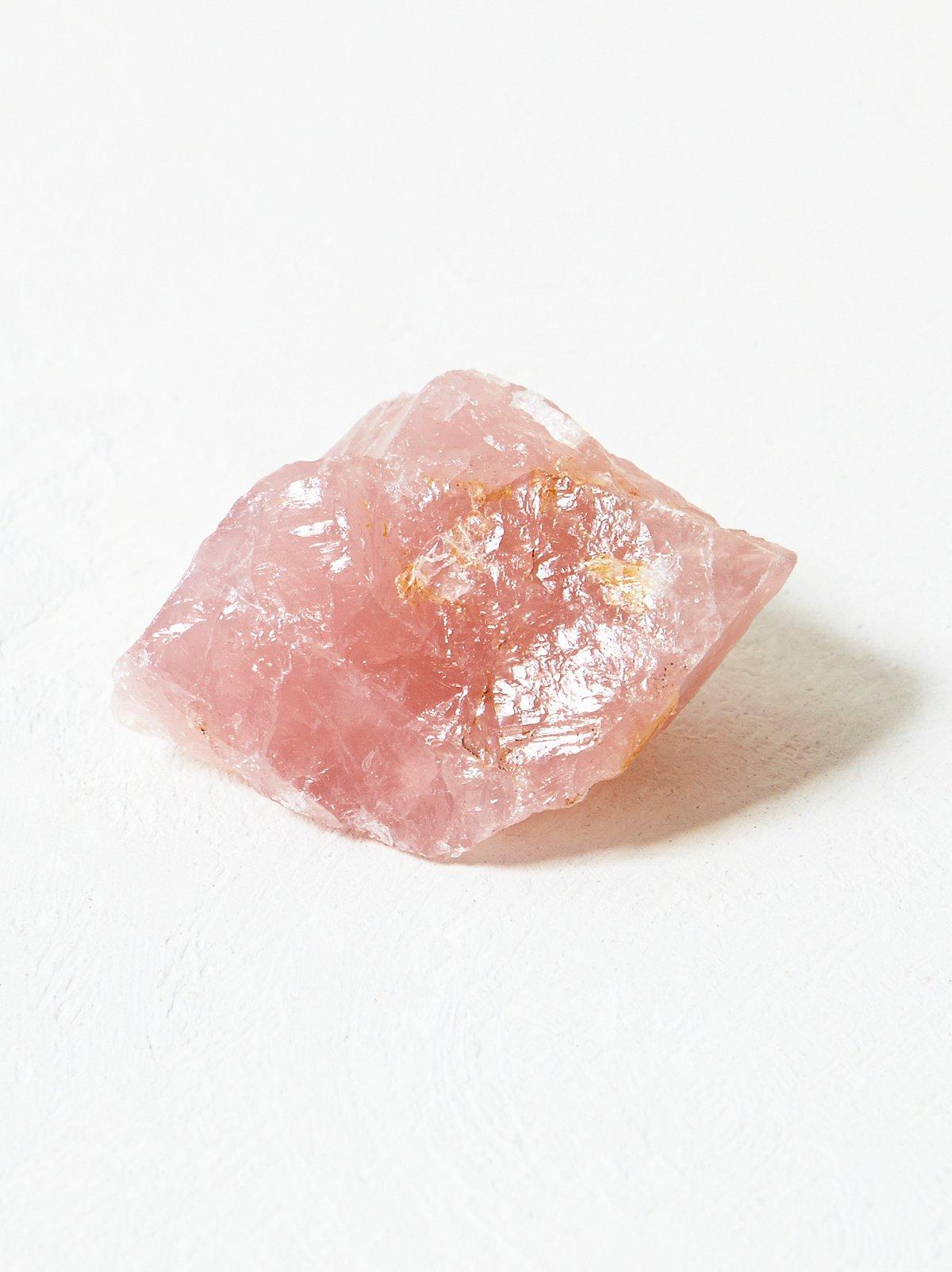 Vintage Rose Quartz Crystal