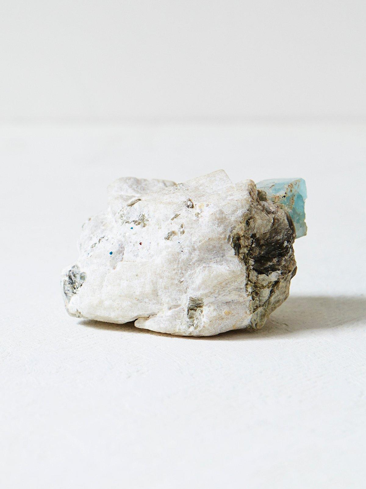 Vintage Blue Aquamarine Crystal