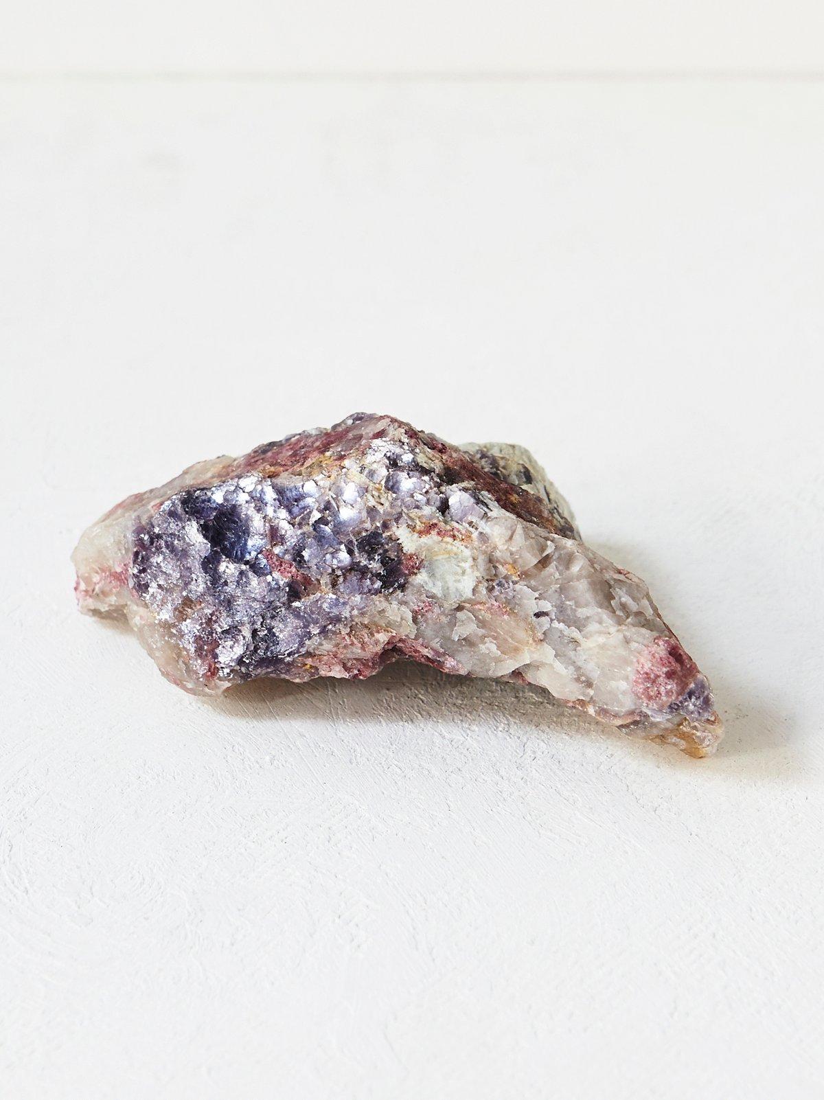 Vintage Large Pink Crystal