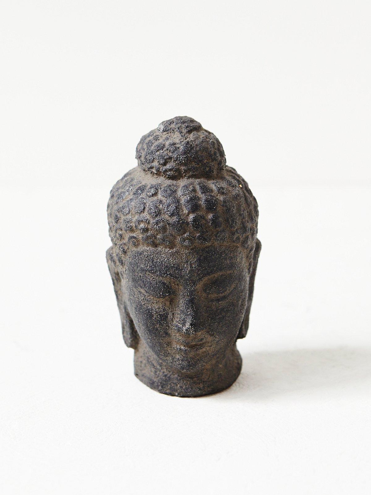 Vintage Buddha Bust Sculpture