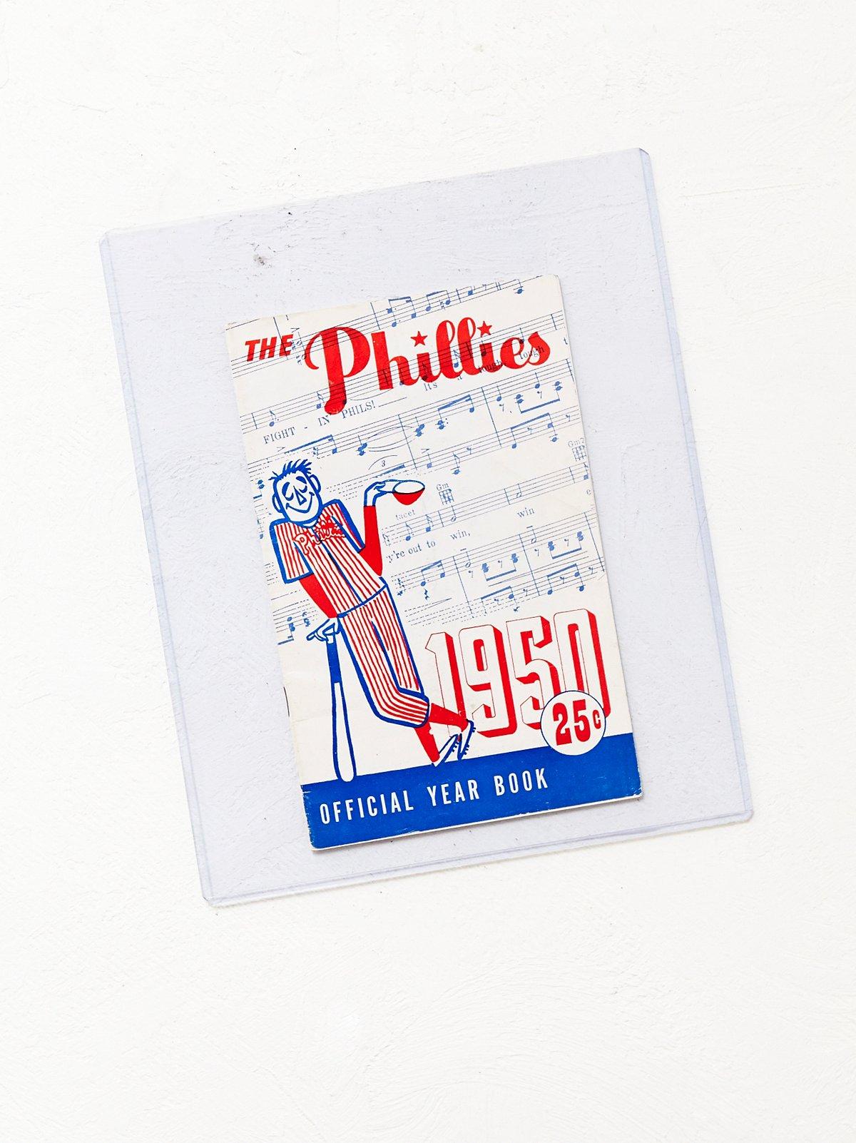 Vintage 1950 Phillies Yearbook