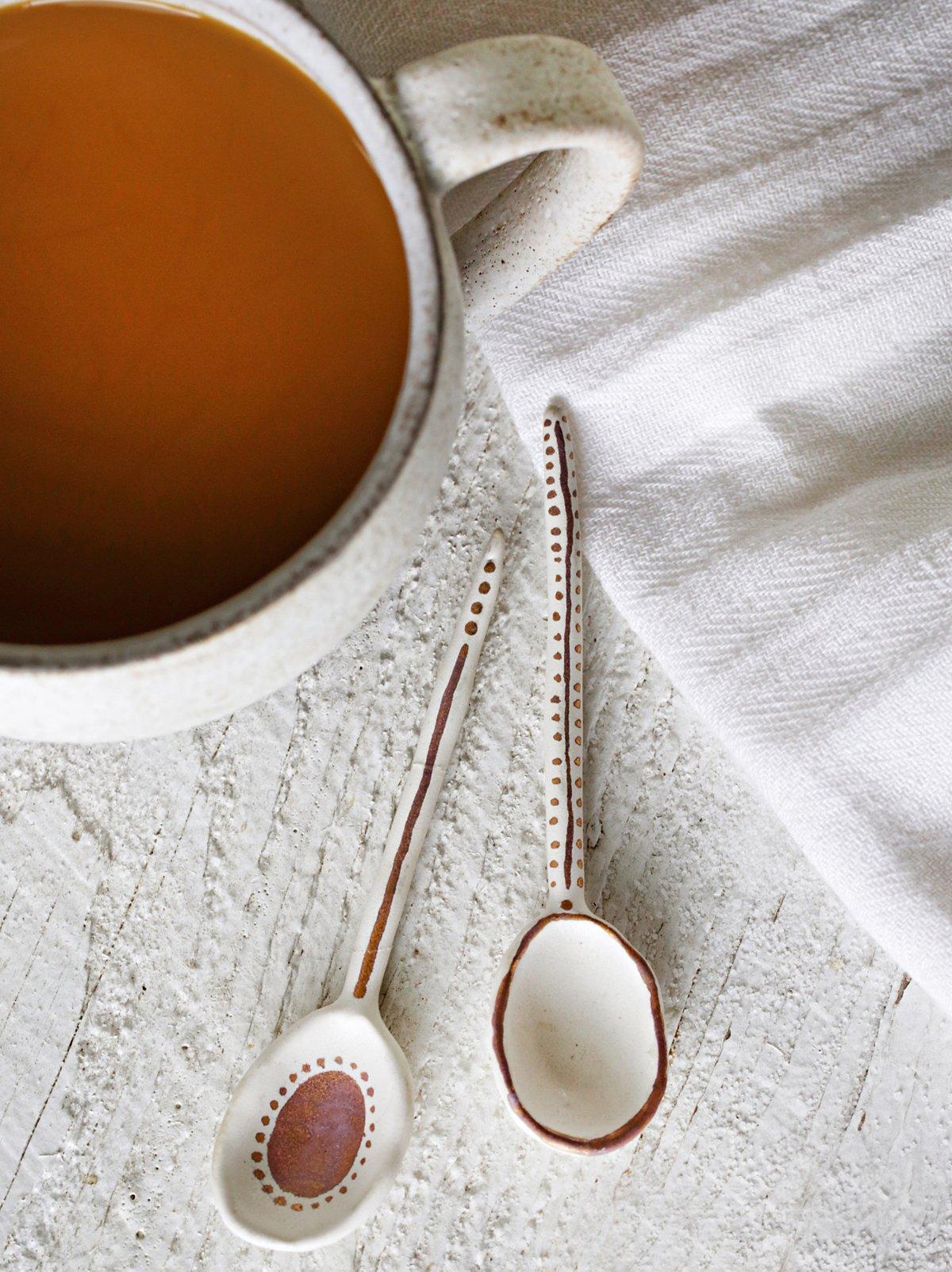 Ceramic Teaspoons