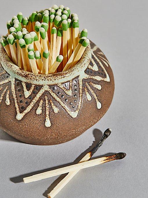 Product Image: 陶瓷火柴罐