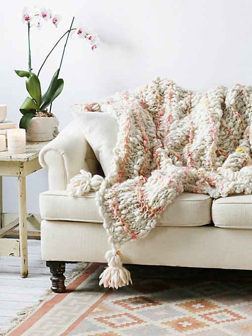 Product Image: FP Chunky Wool Blanket