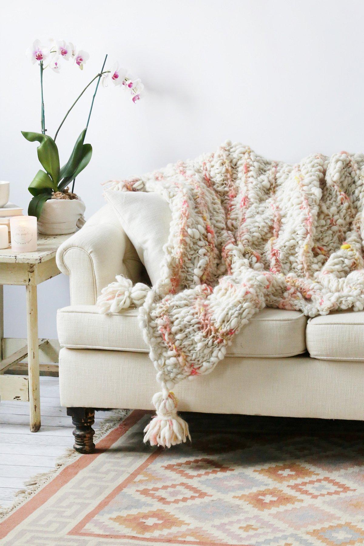 FP厚实羊毛毯