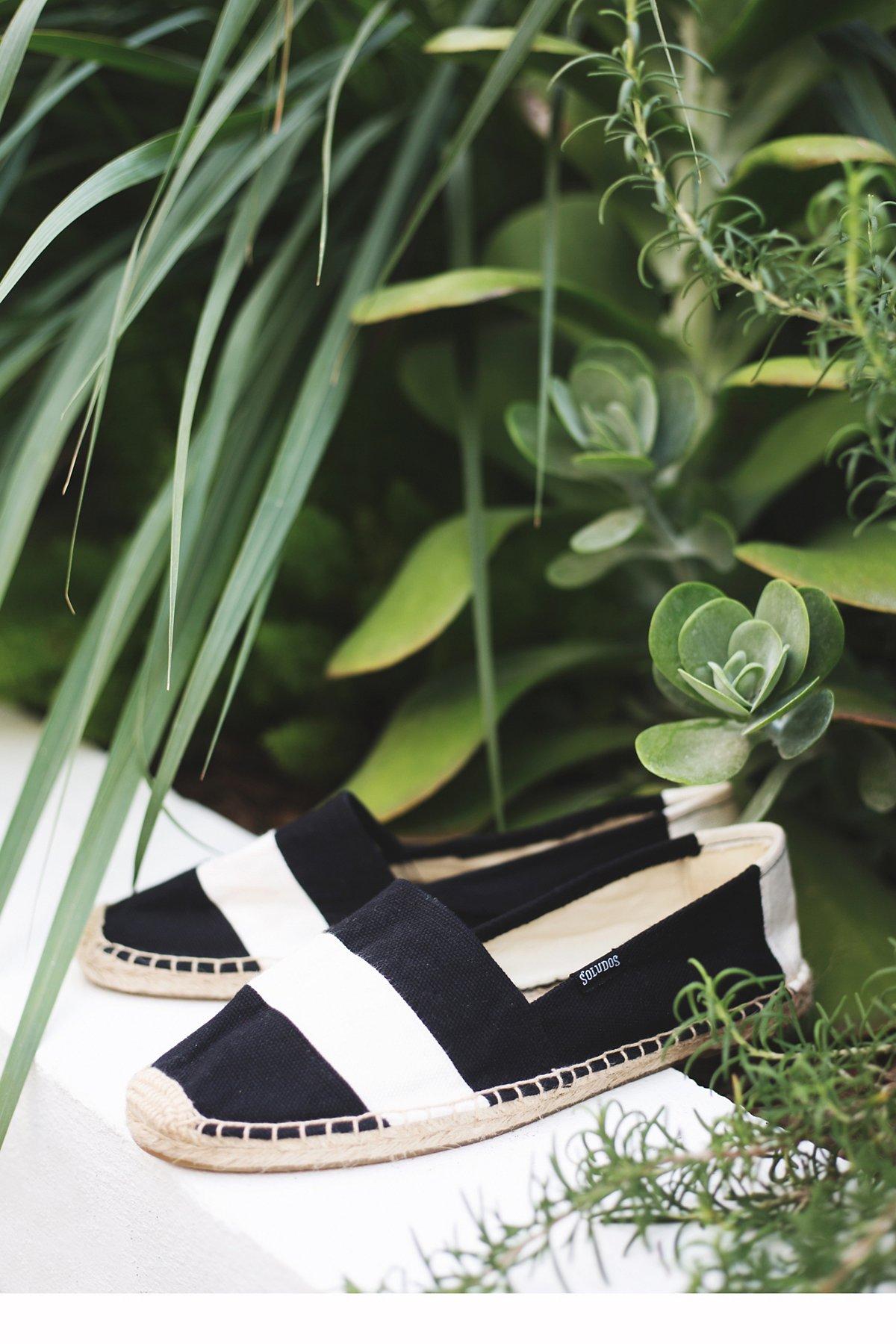 皱布条纹麻底鞋