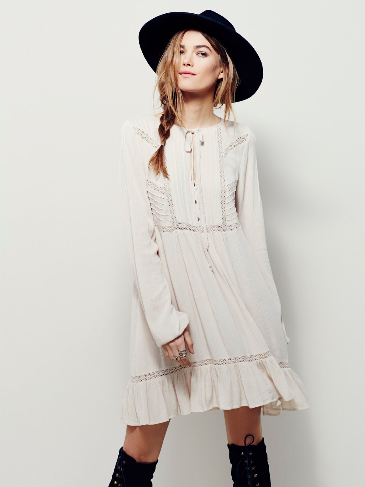 Sweet Treat Mini Shirt Dress