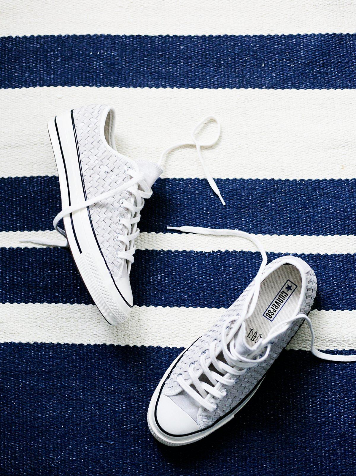 梭织绒面革低帮鞋