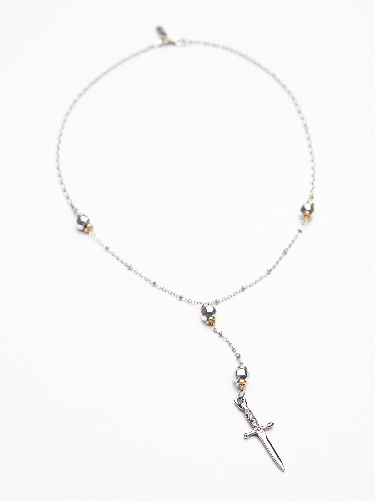 Palladia Cross Necklace