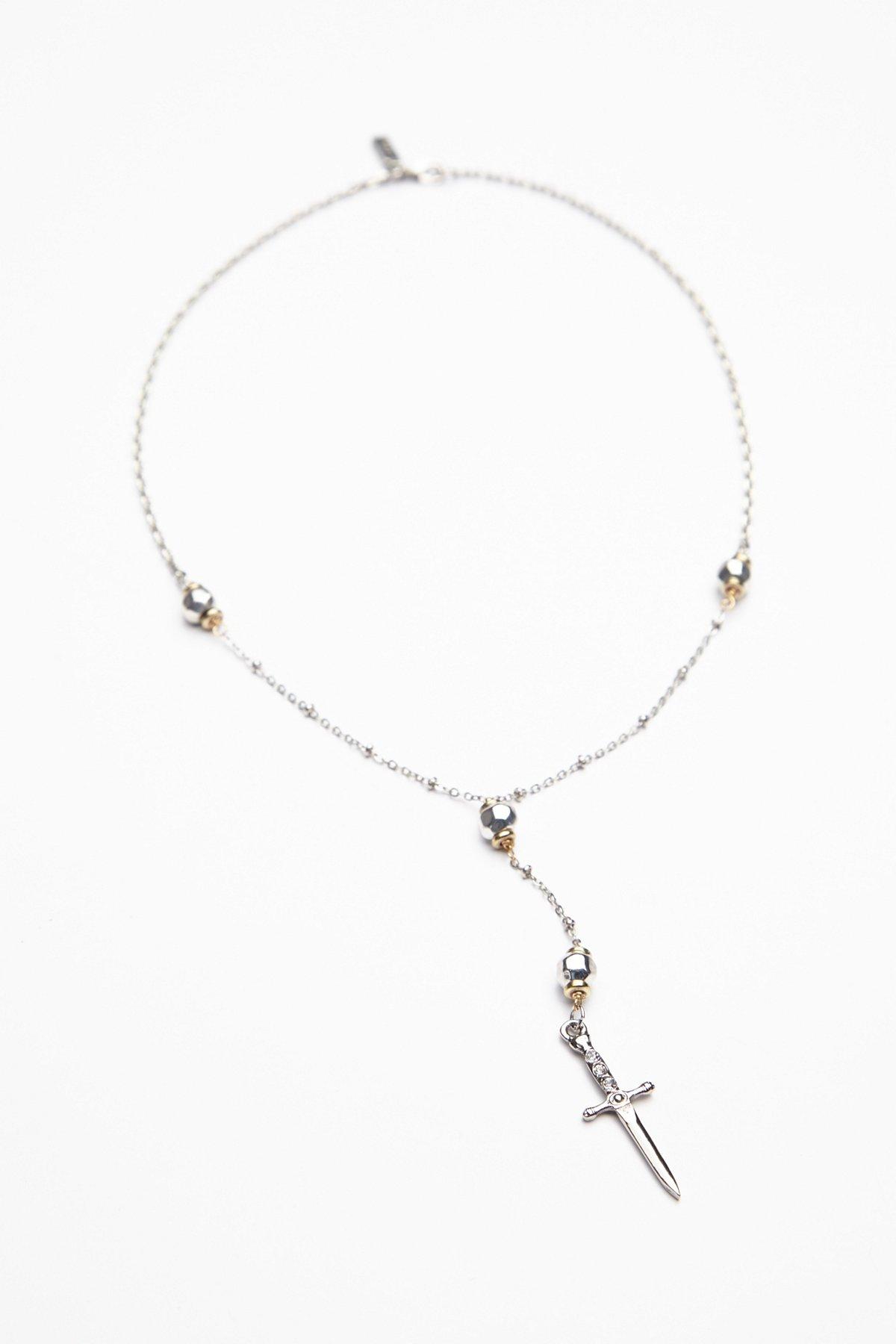 Palladia Cross Necklace