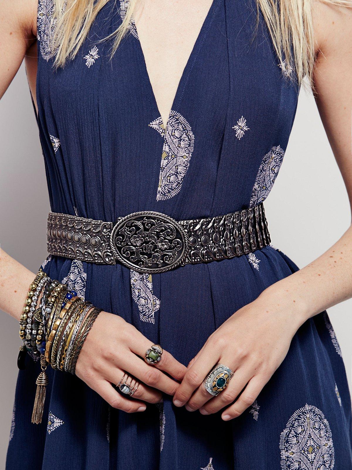 Carole Metal Belt