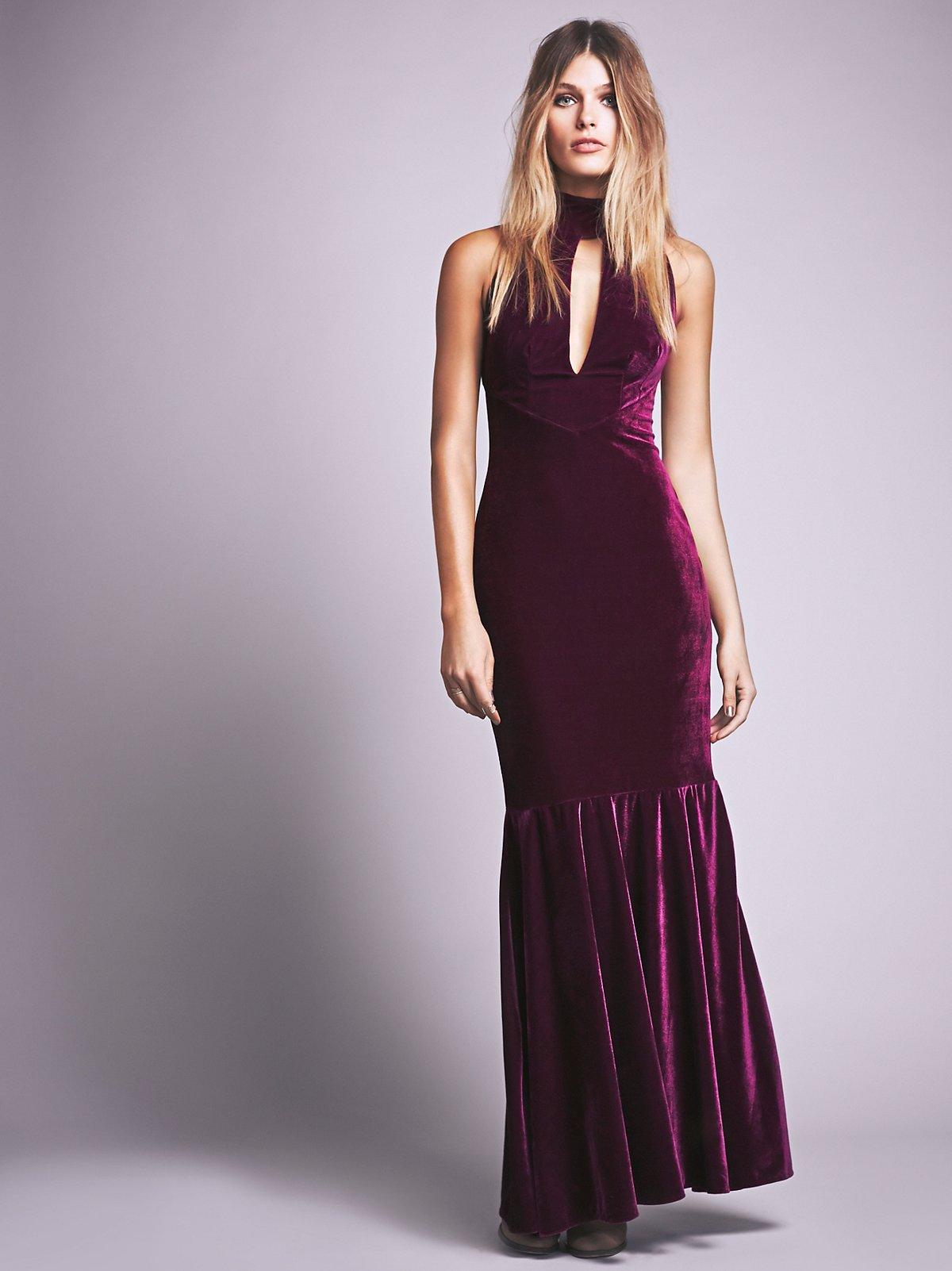 Veuve Velvet Dress