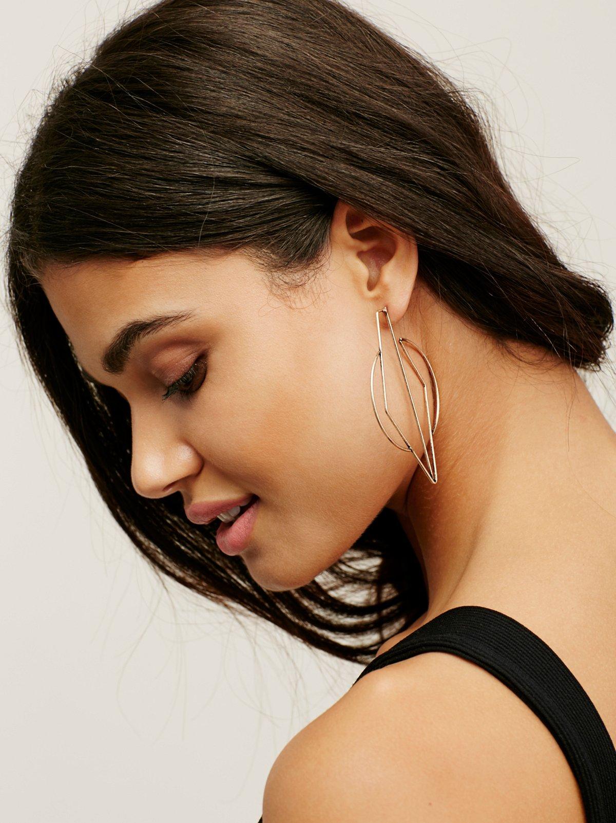 Prism Hoop Earrings