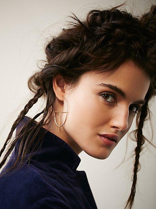 Product Image: Prism Hoop Earrings
