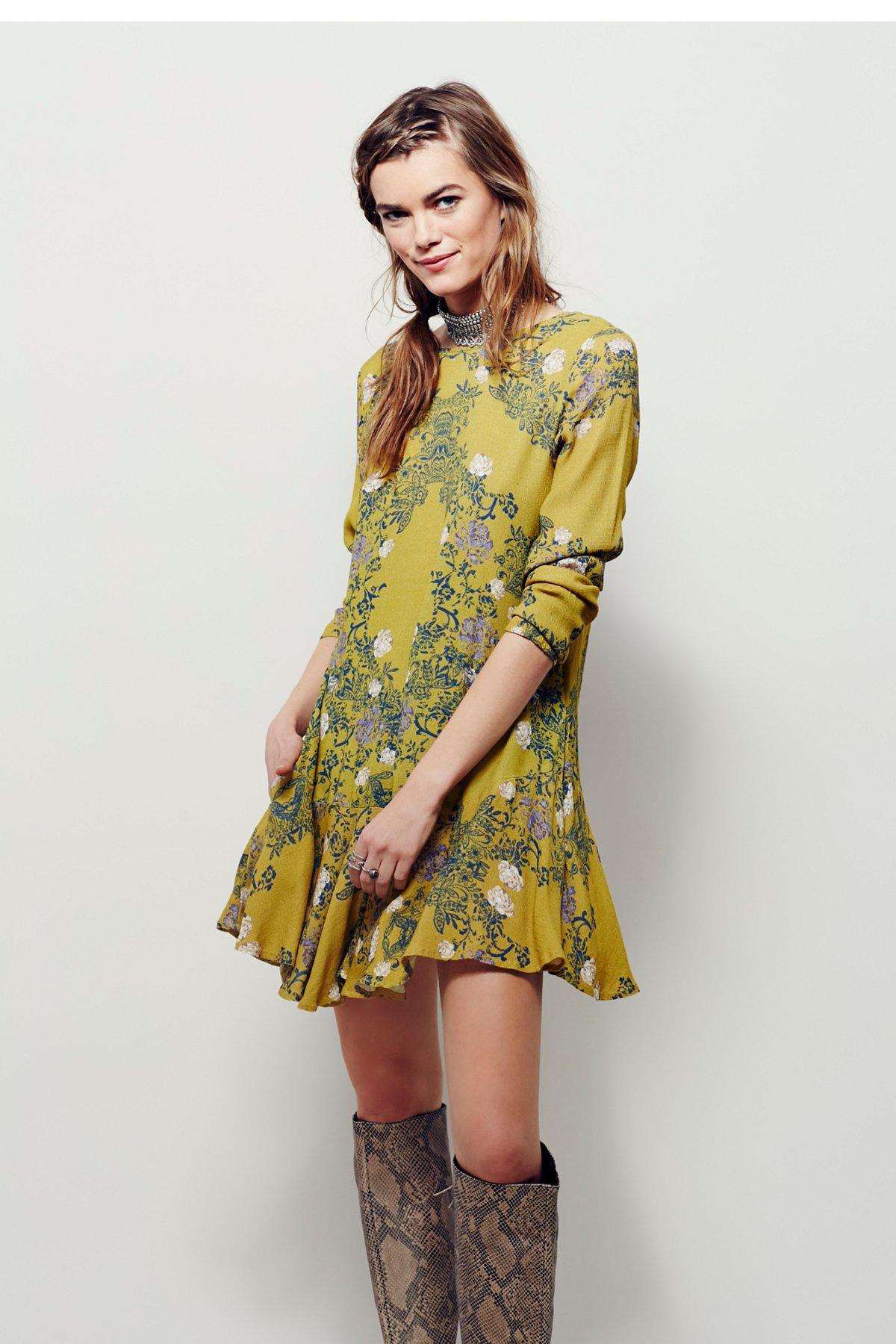 Smooth Talker花卉印花裙衫