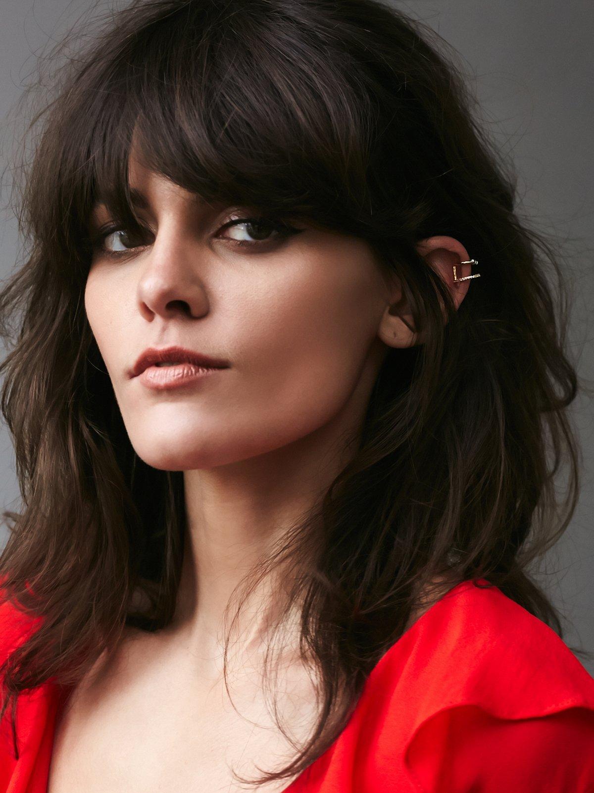 Double Barbell Ear Cuff