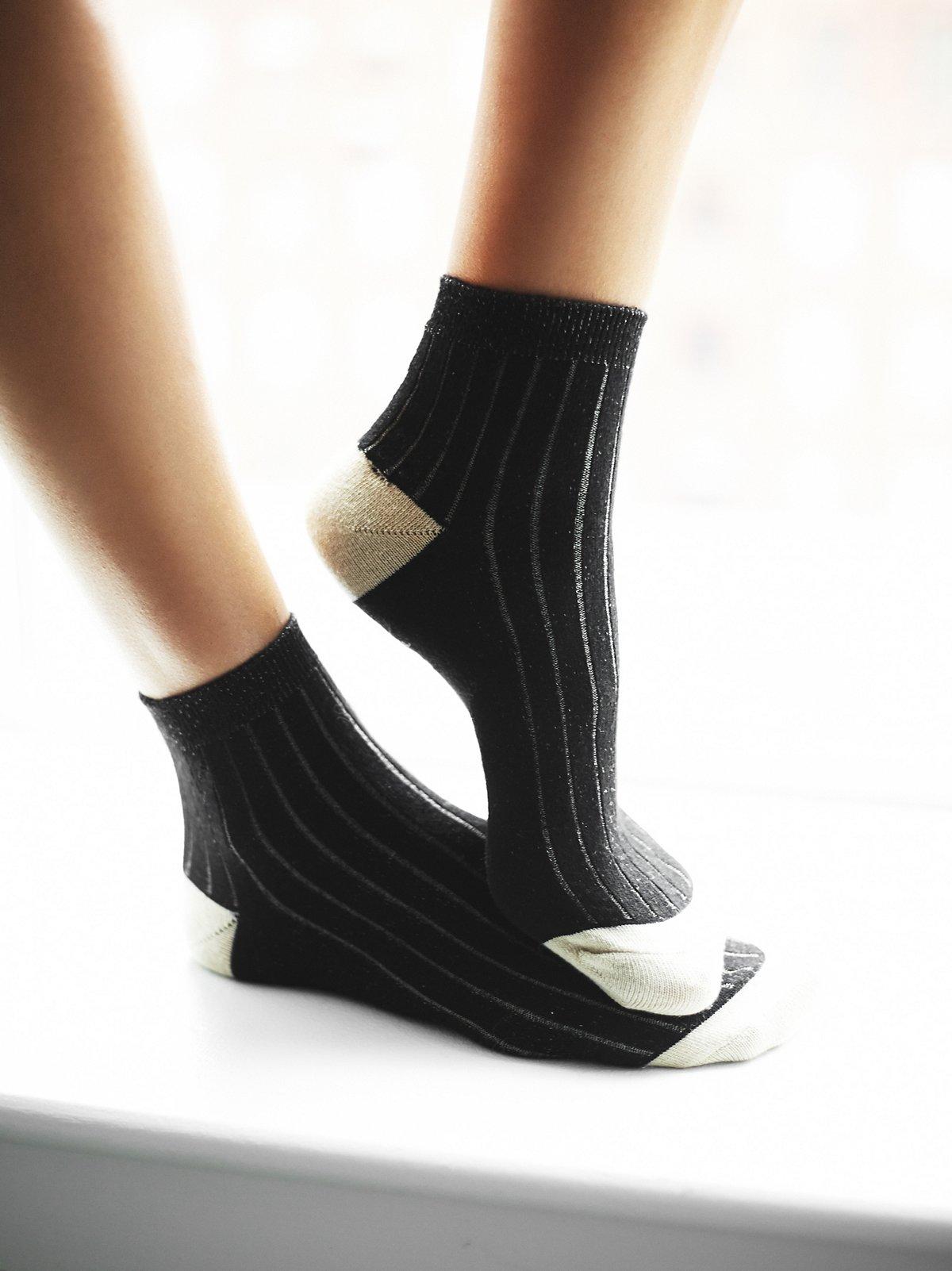 Sloane罗纹短筒袜