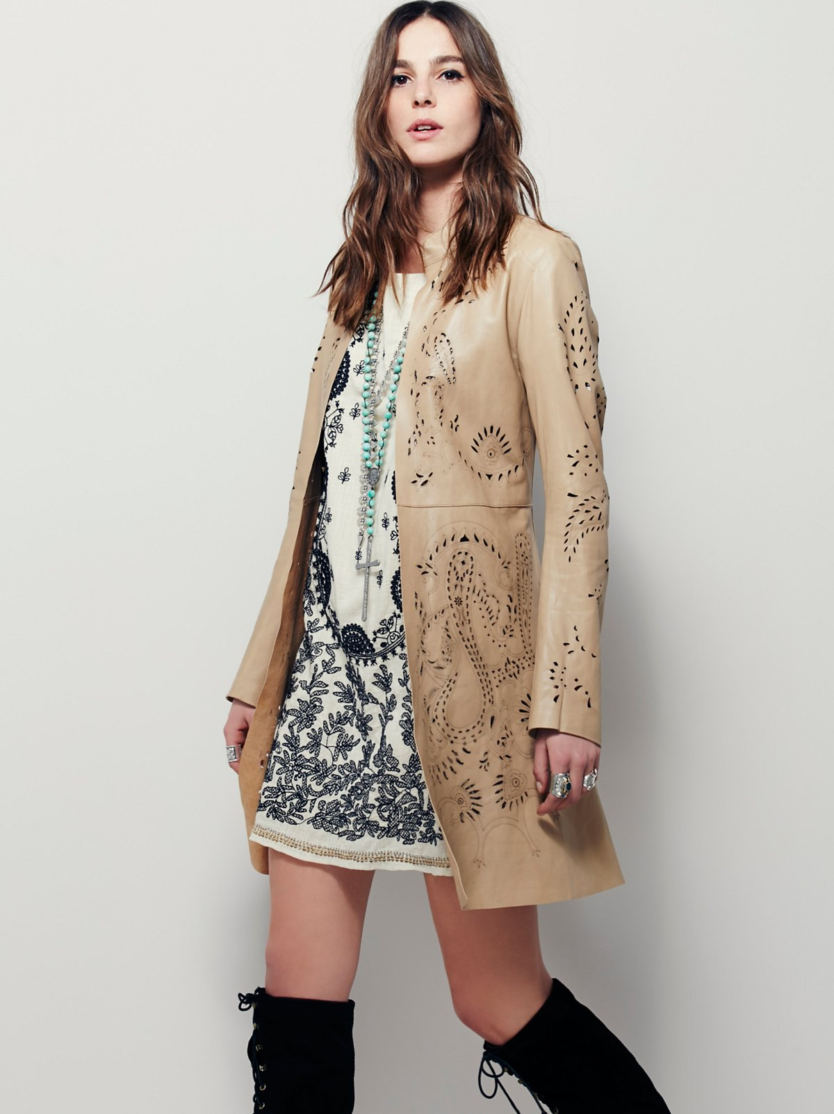 Lace Luke Cutwork Jacket