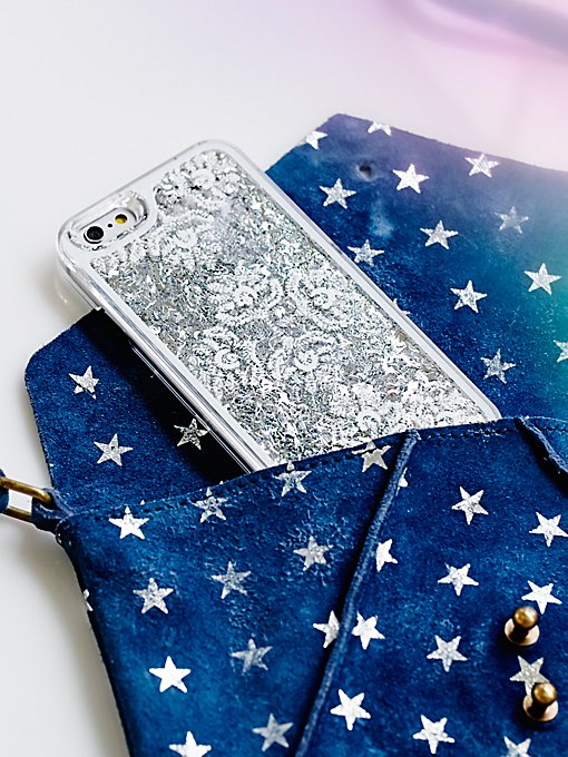 Product Image: Cosmic Storm Liquid Glitter iPhone Case