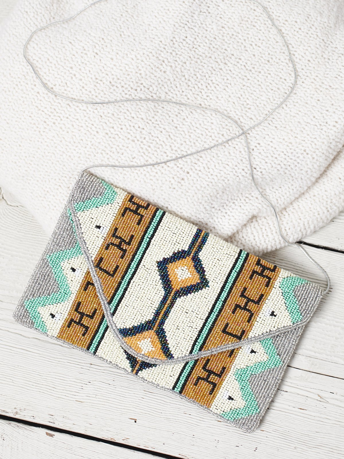Tropez Beaded Clutch