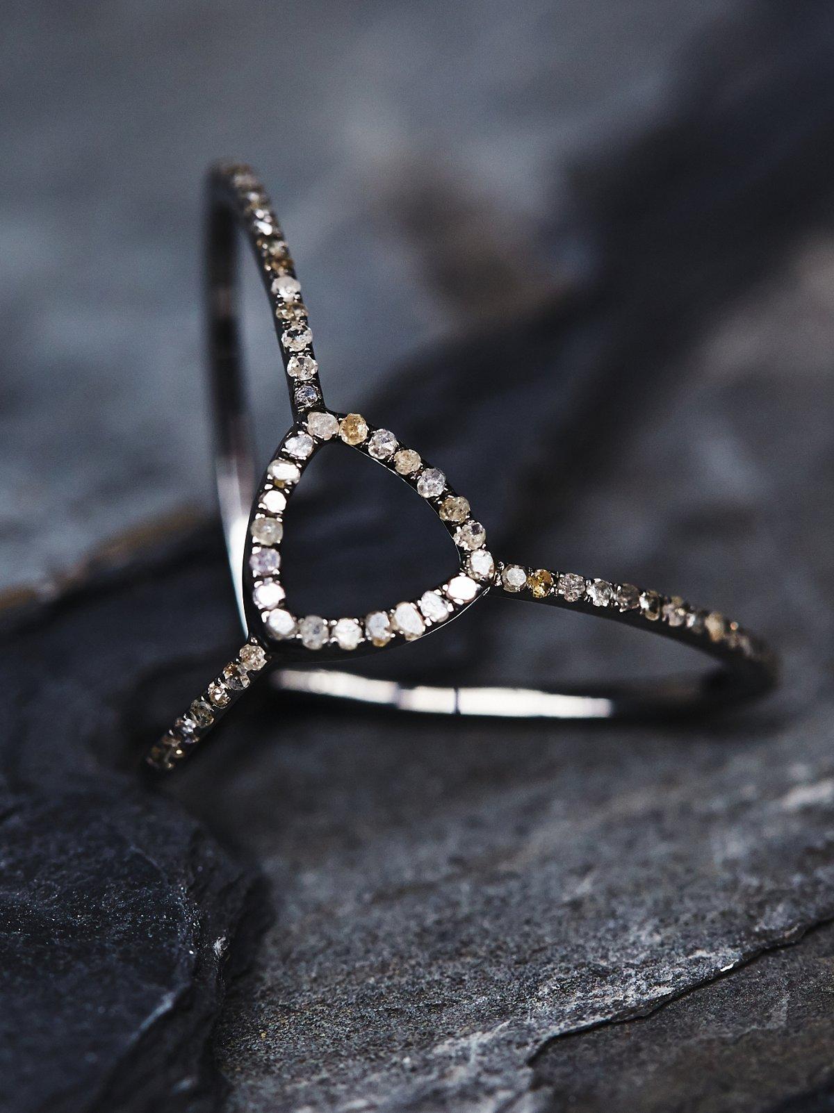Adorned Diamond Ring