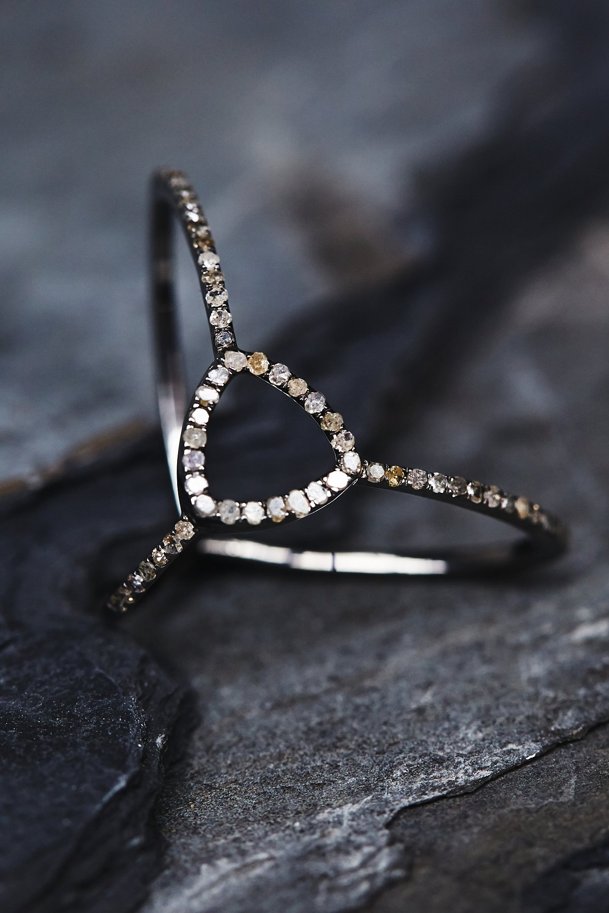 Adorned Diamond Ring