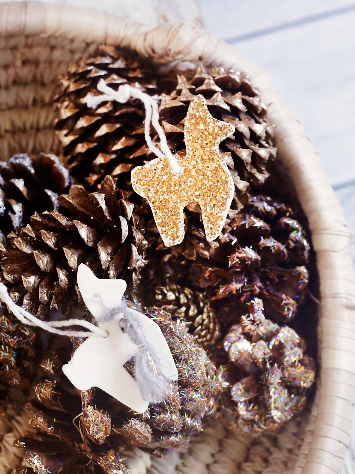 Mini Llama Ornaments