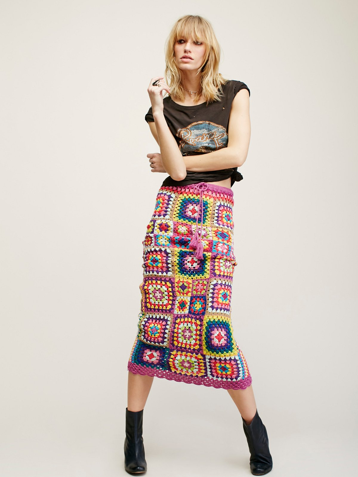 Carnaby Crochet Skirt