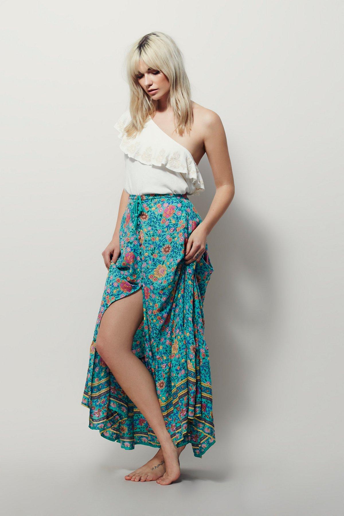 Folktown Buttondown Skirt