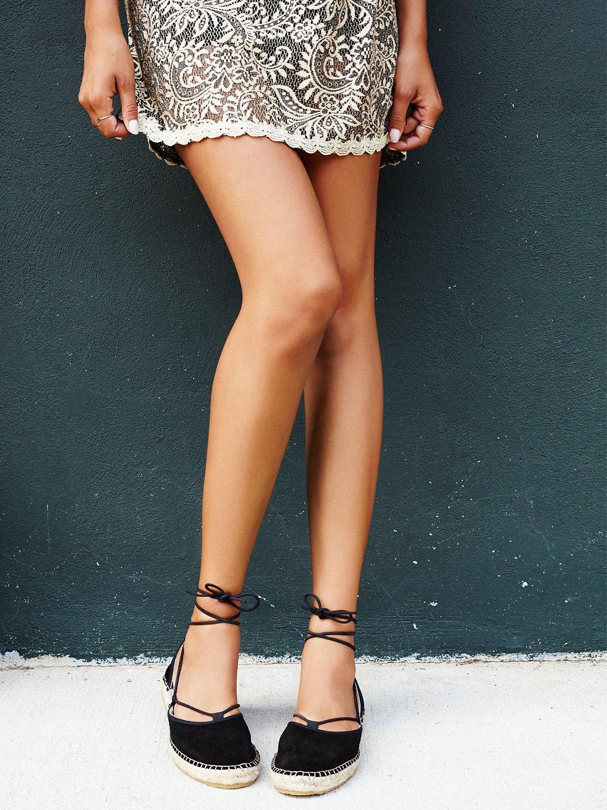 Marina系带便鞋