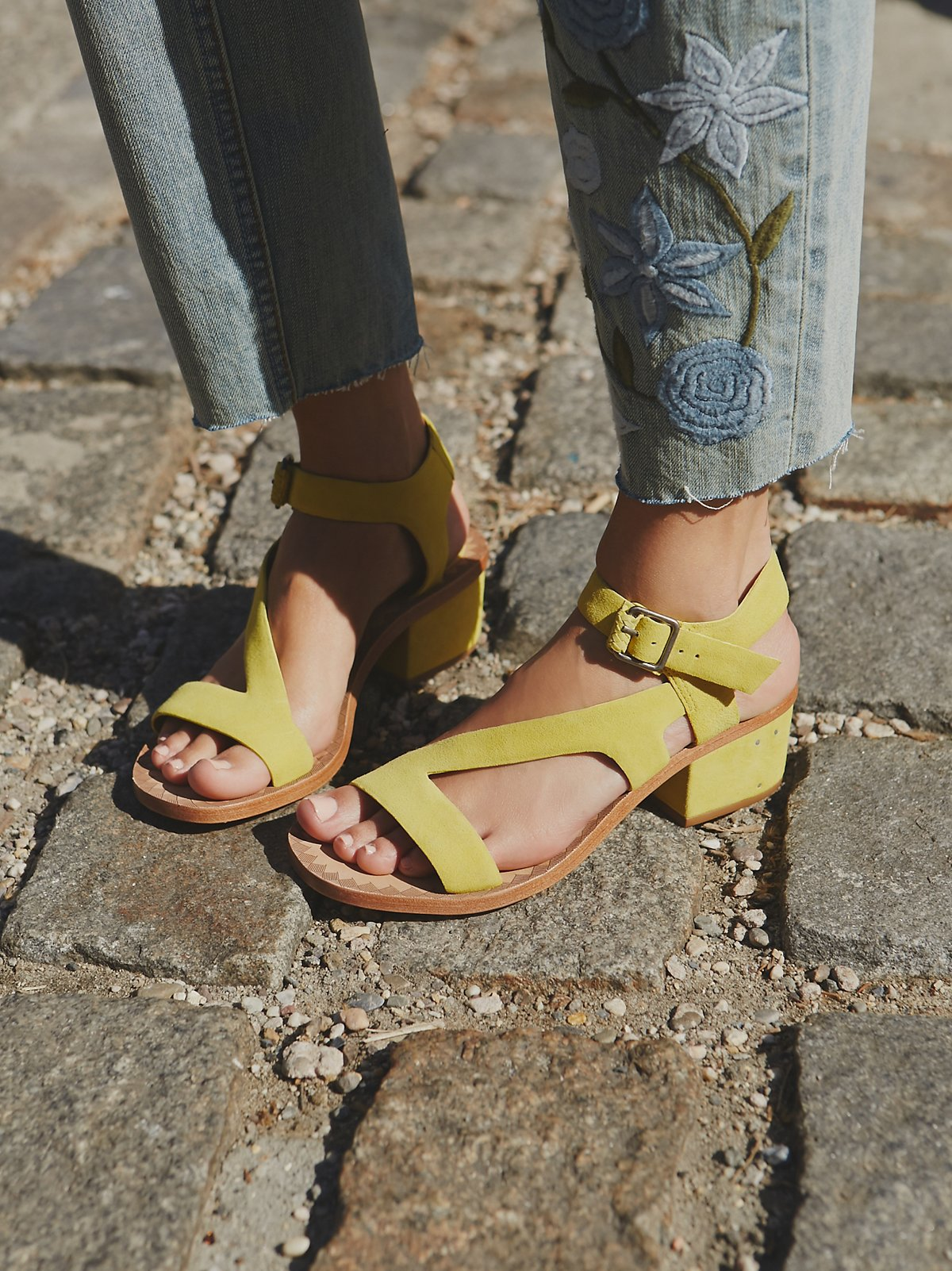 Lana Block Heel Sandal