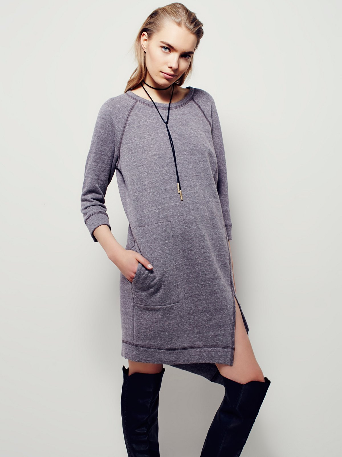 Cozy Sweatshirt Dress