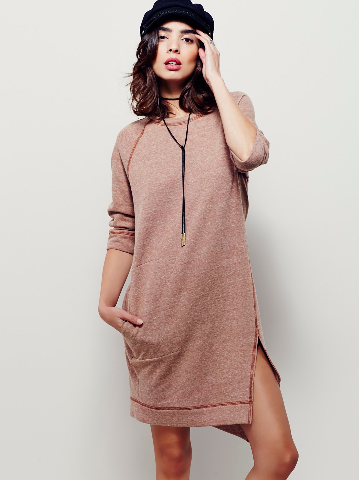 Cozy Sweatshirt Dress