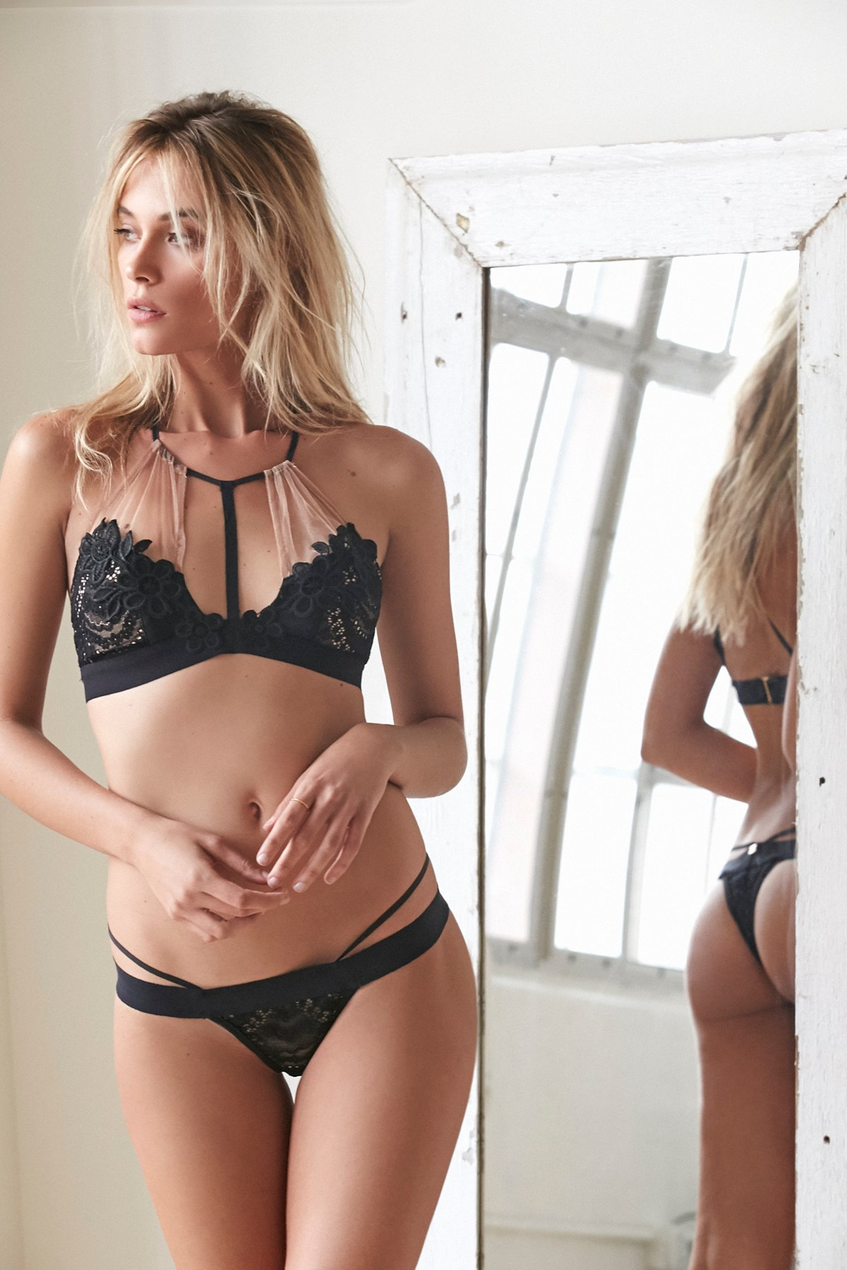 Lucia Lace Thong