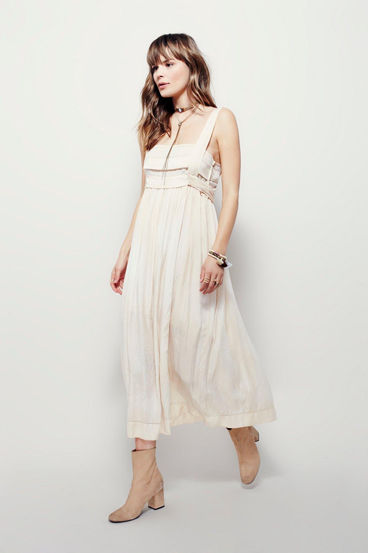 Hearts On Fire Midi Dress