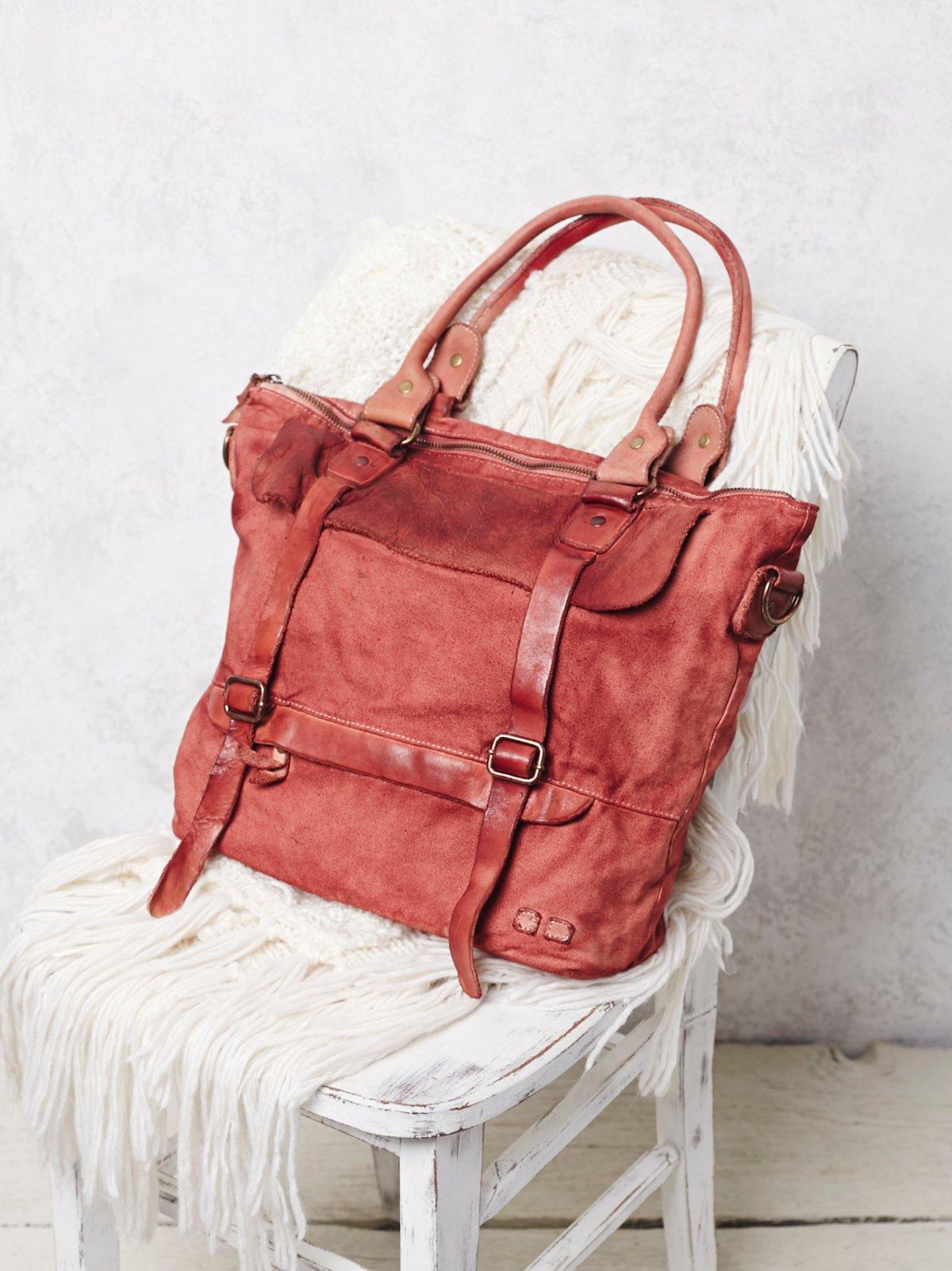 Cascade皮革手提包