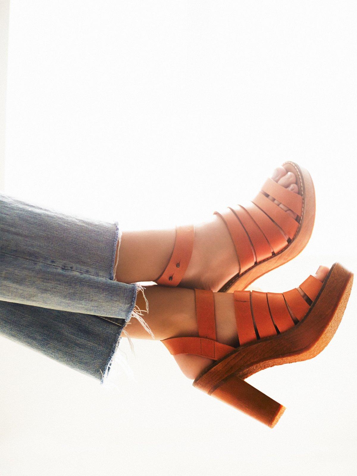 New Dule厚底高跟鞋