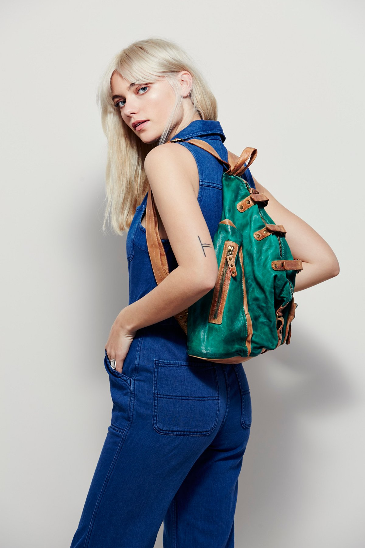 Beaufort Distressed Backpack