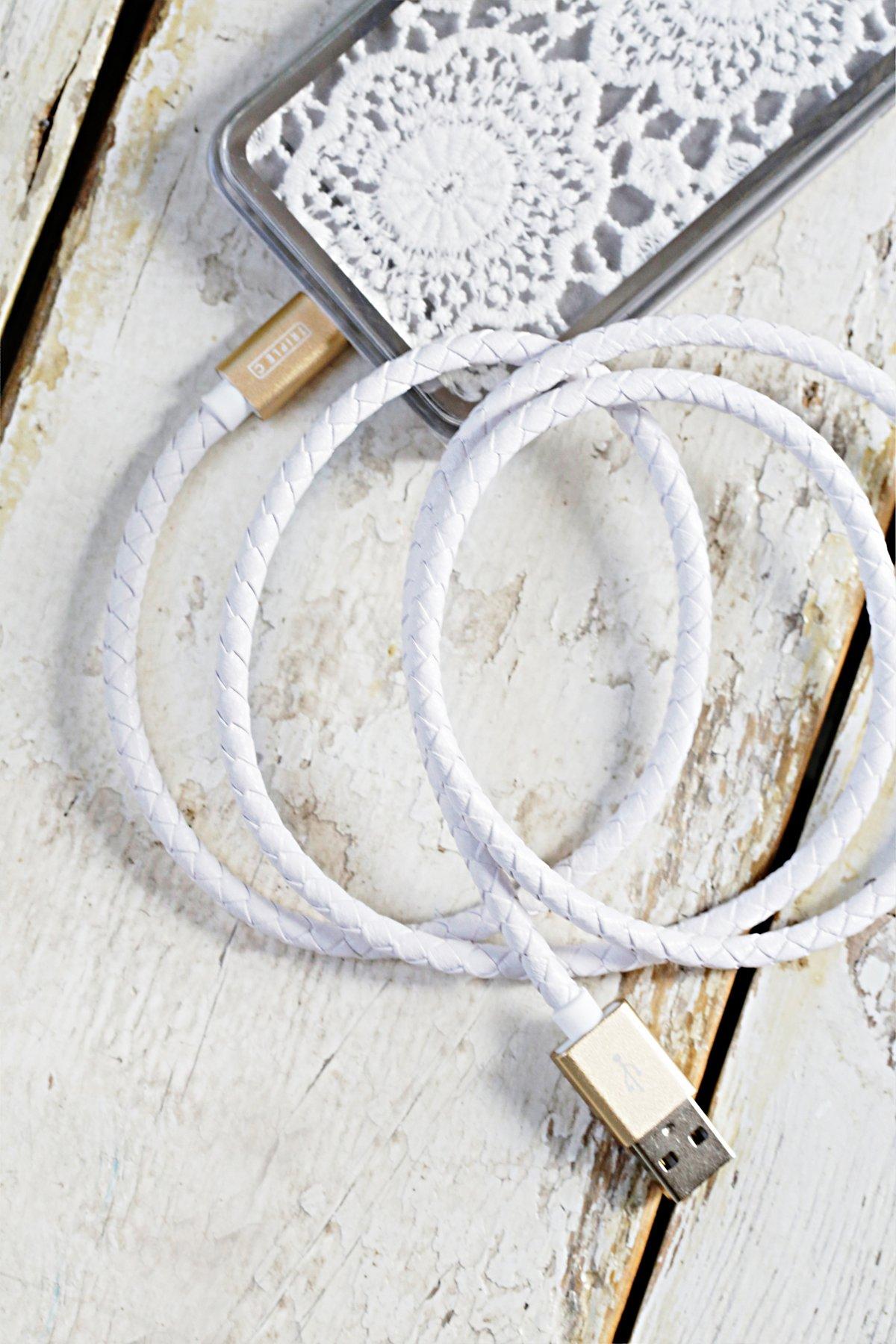 皮革充电线