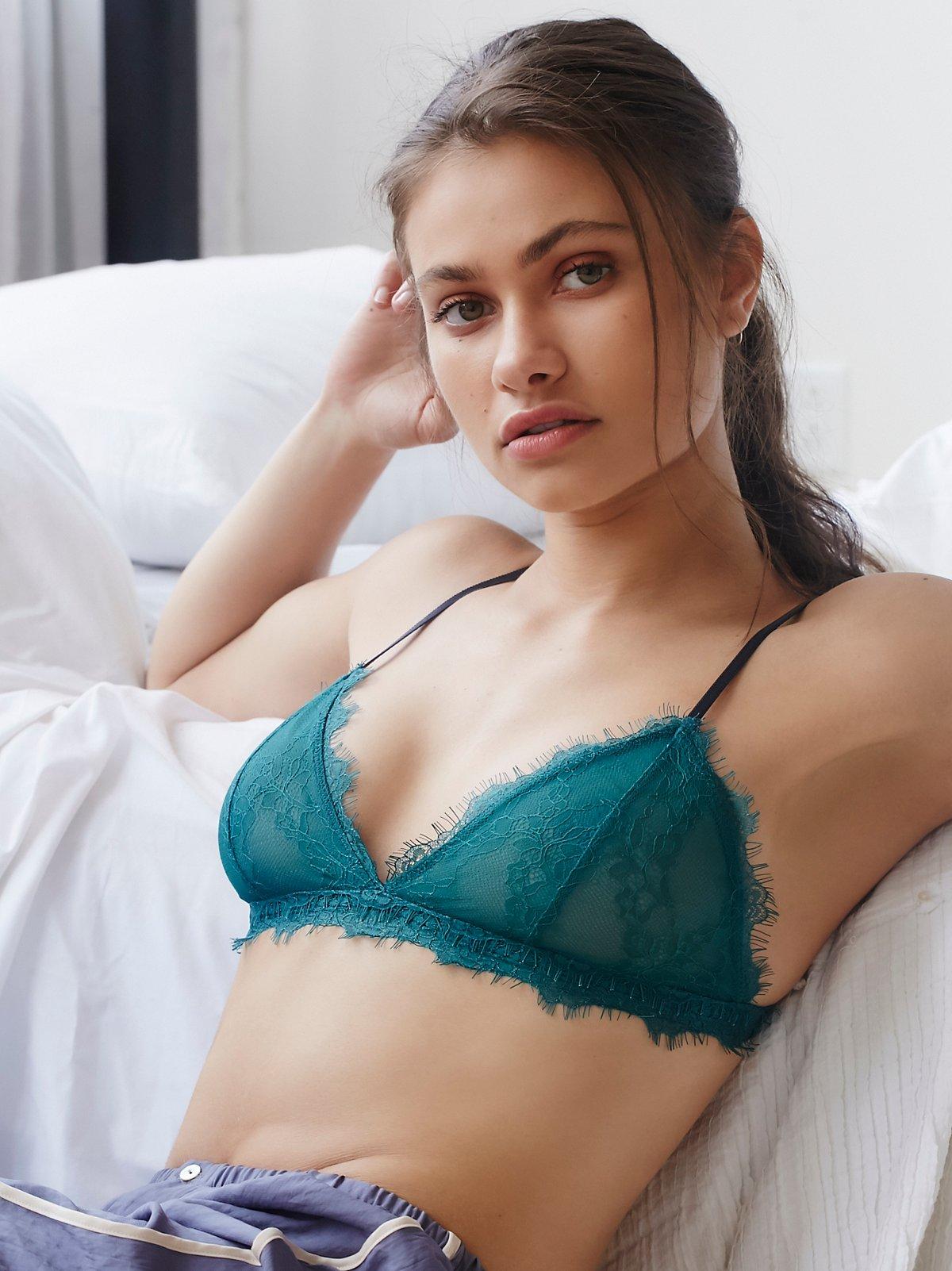 Intimately Emerald Bedroom Eyes Bralette At Free People