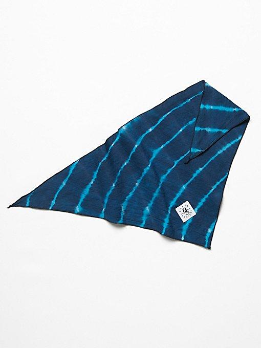 Product Image: Hand Dyed Shibori Bandana