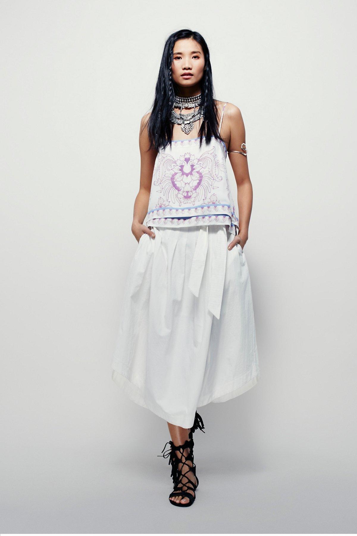 Riptide中长款半身裙