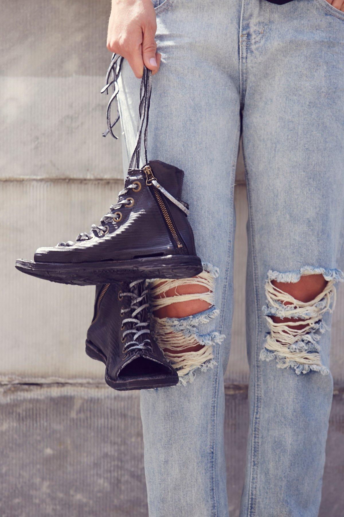Saga Lace Up Sandal