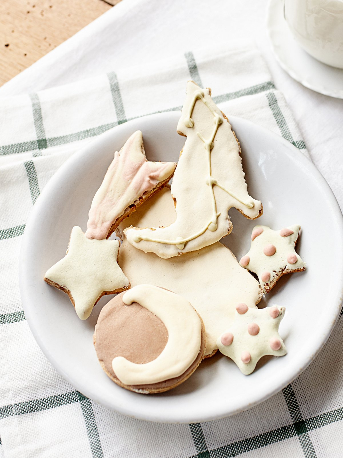 Christmas Cookie Dog Treat Set