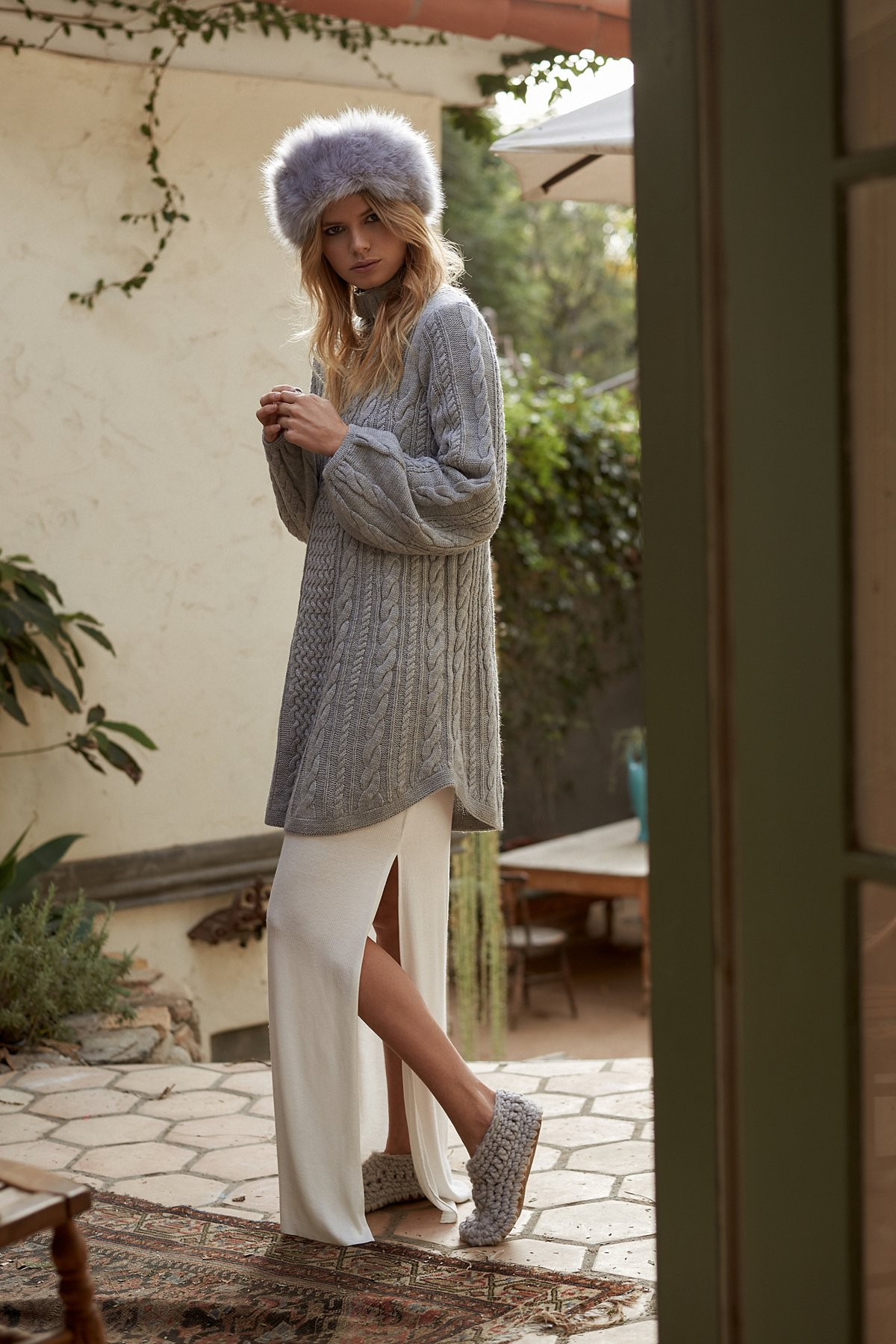 Mini Cable Sweater Dress